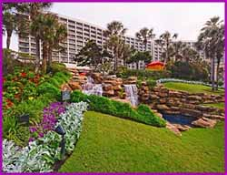 The San Luis Resort, Galveston Texas.